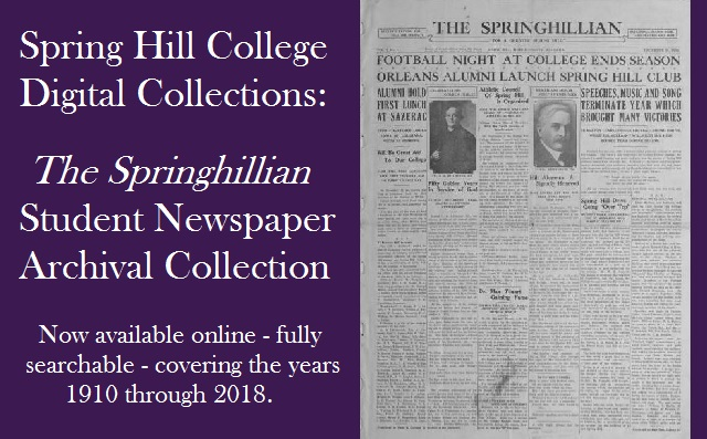 Image of Springhillian newspapers as part of digital collections