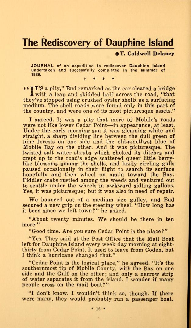 Page of the 1900 Spring Hill Review
