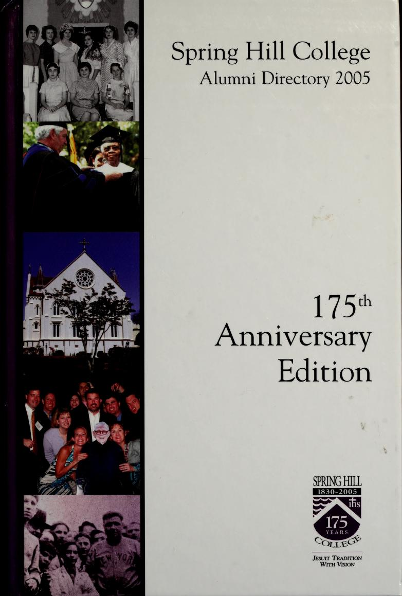 Cover of 2005 Alumni Directory book