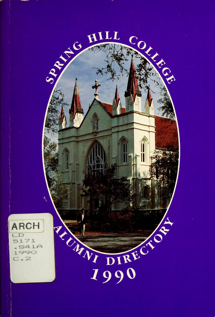 Cover of 1990 Alumni Directory book