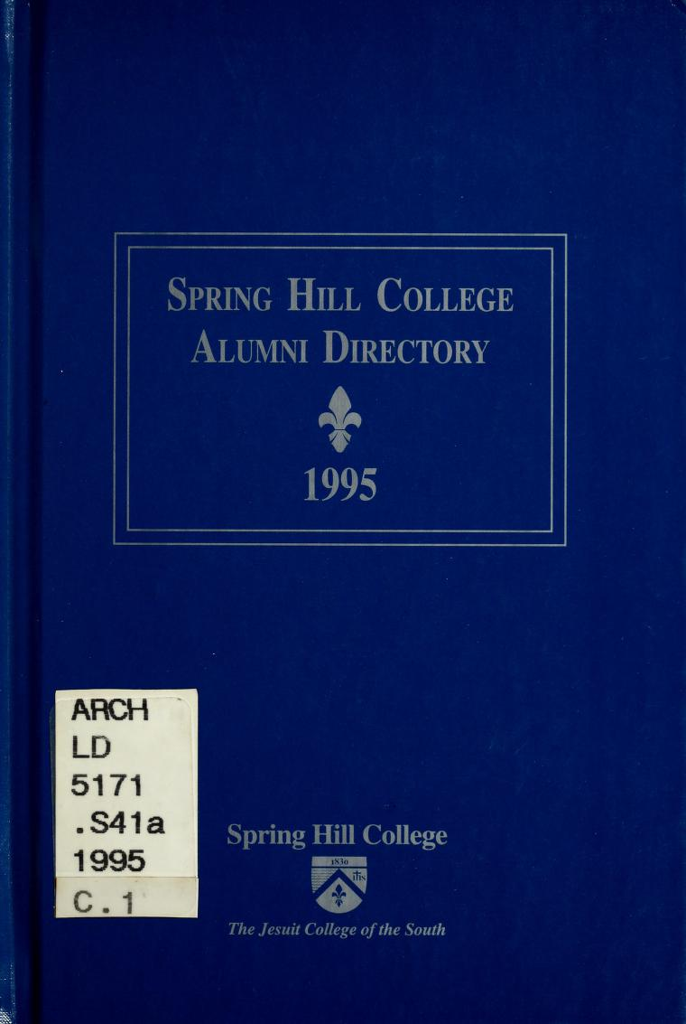 Cover of 1995 Alumni Directory book