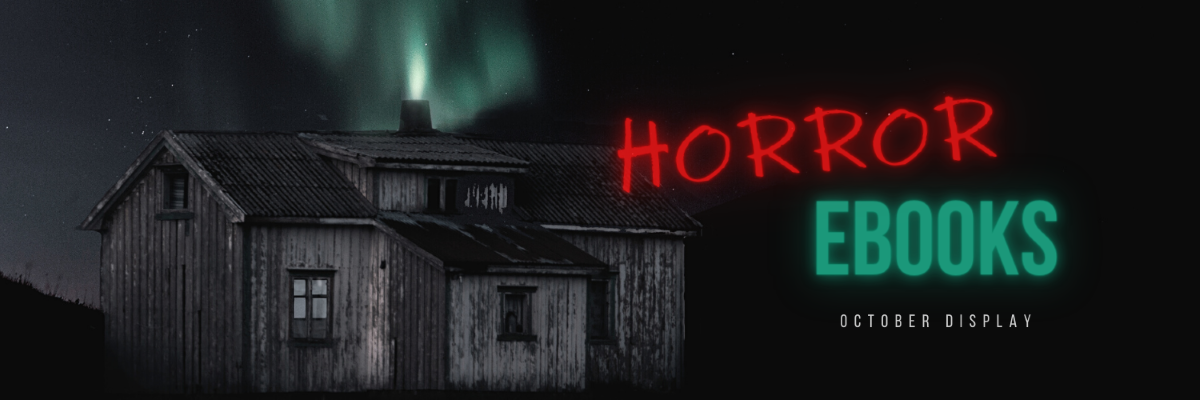 Horror ebooks, banner