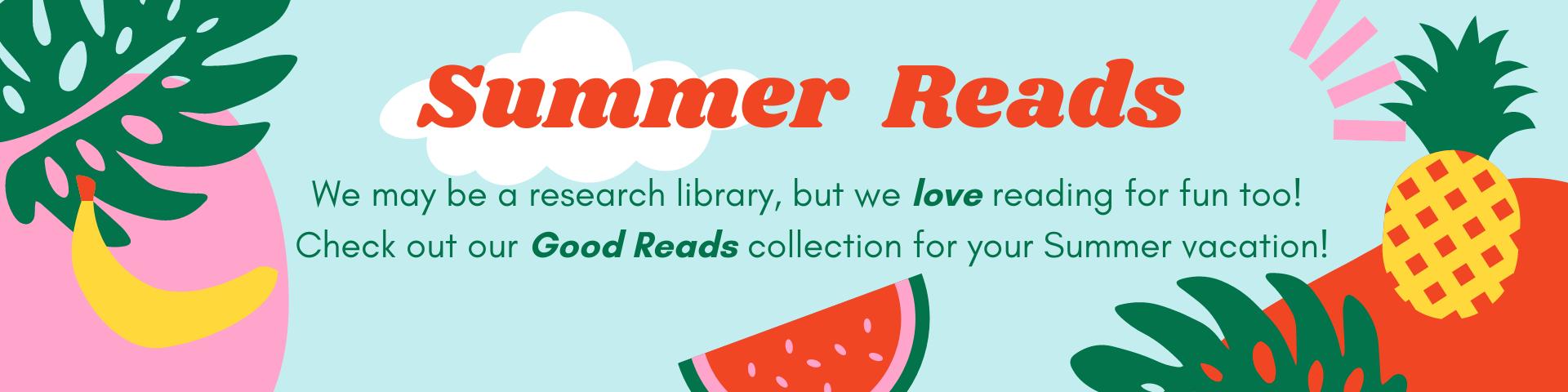 Summer Reads at Delta