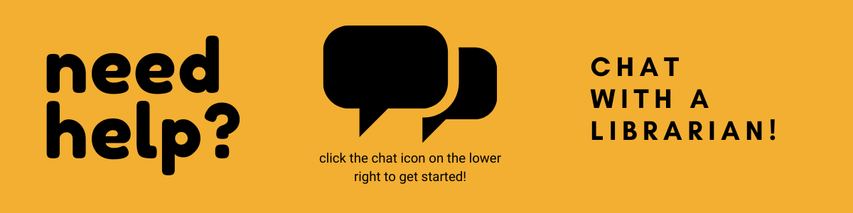 Need Help? Chat with a Librarian