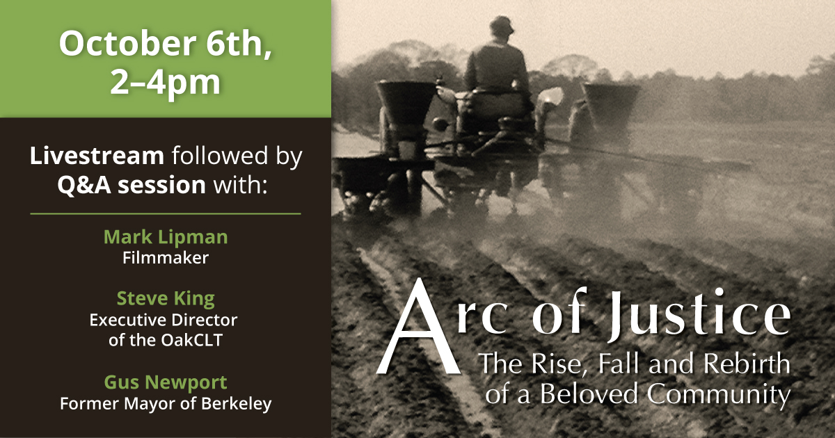 Film Screening: Arc of Justice @ Online