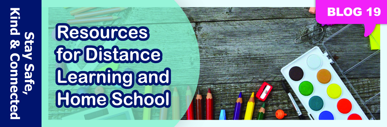 Blog 19: Library Resources for Distance Learning and Home School