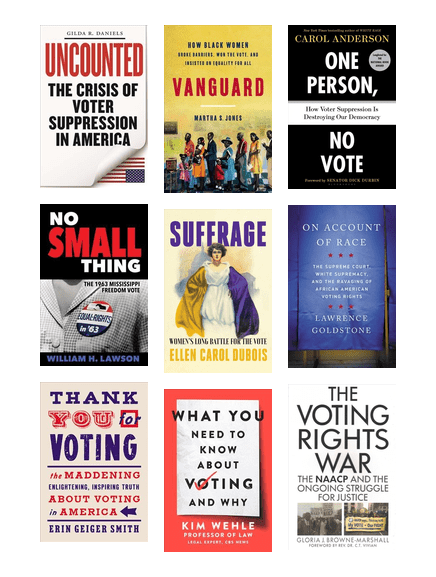 Civics Corner: Voting Rights Booklist for Teens & Adults