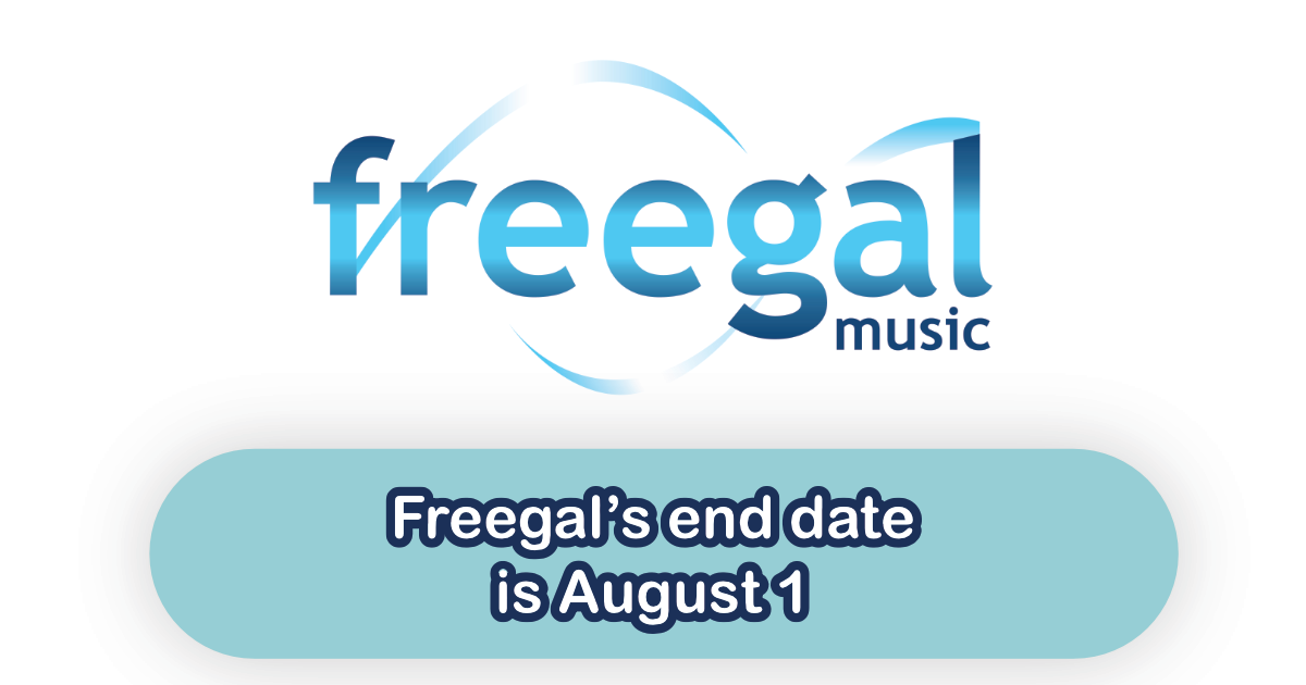 Subscription with Freegal will End as of August 1, 2020