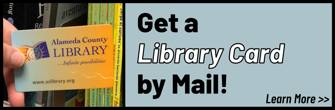 Get a Library Card by Mail!