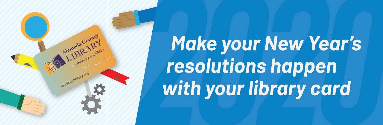 Make your New Year's resolutions happen with your library card