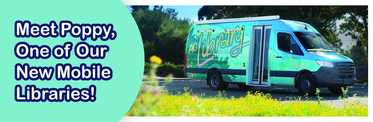 Meet Poppy, One of Our New Mobile Libraries!