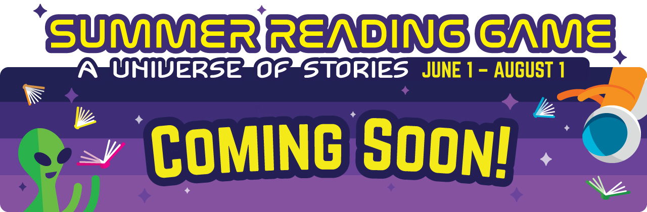 2019 Summer Reading Game Coming Soon!