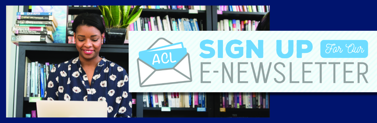 Sign Up For Our eNewsletter!