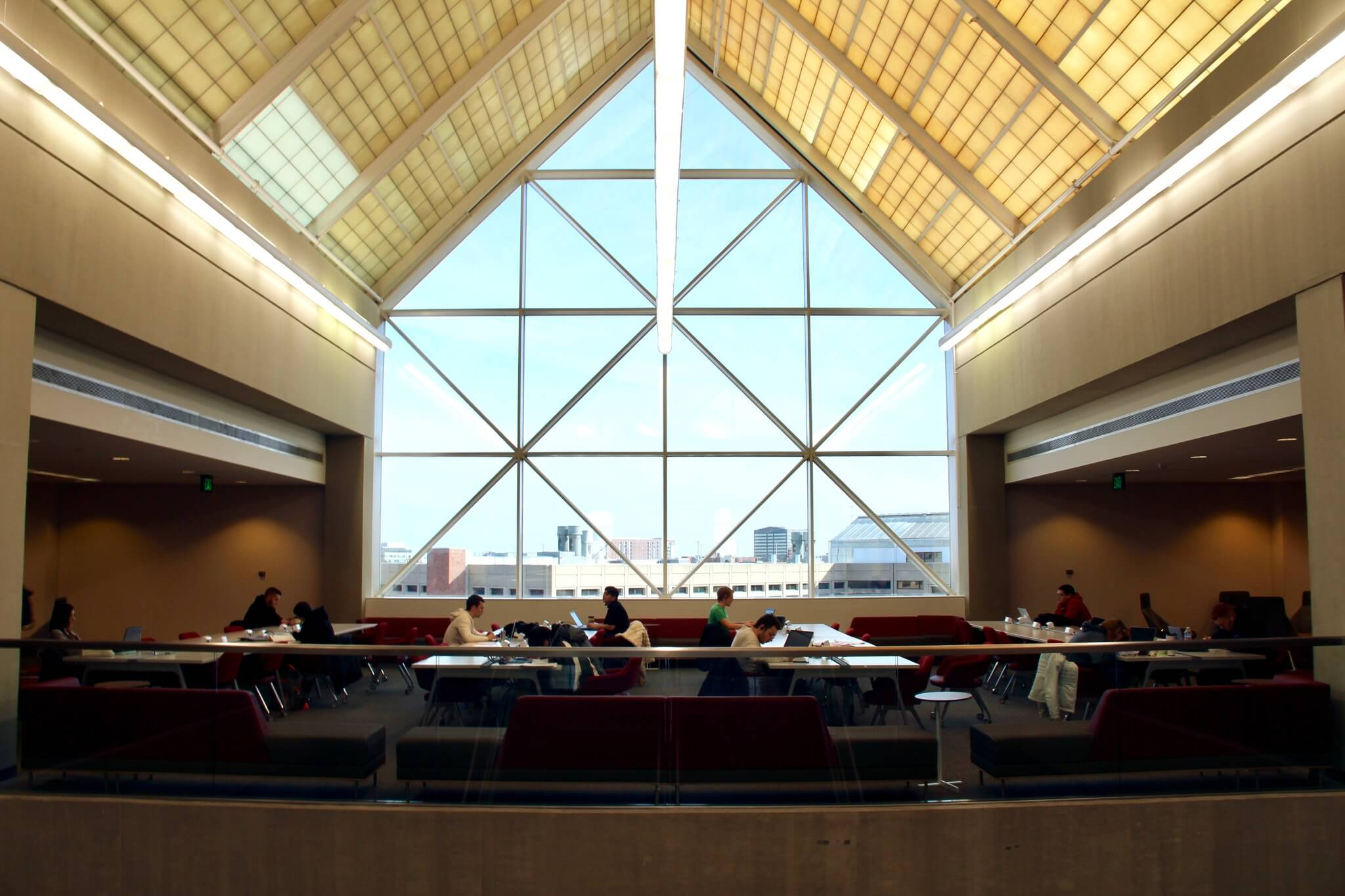 Interior, IUPUI Library