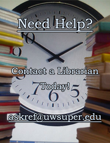 Contact a Librarian for Help Today!