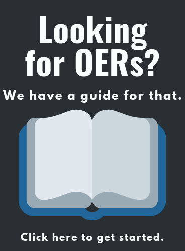 OER guide click picture to get started