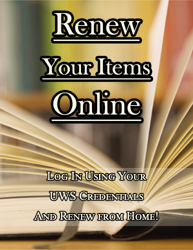 Renew Your Materials Online!