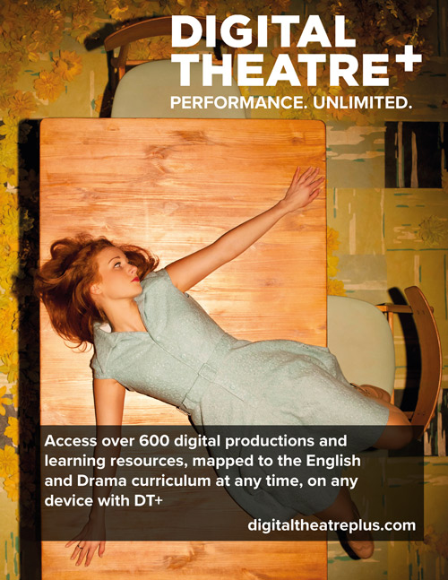 Use Digital Theatre+ to find over 600 digital productions and resources.