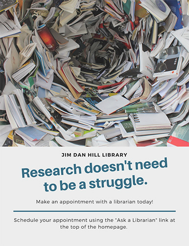 Talk with a Librarian for help with your research!