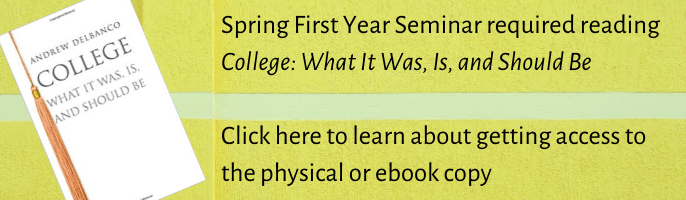 Get Library Access to the First Year Seminar Read. Click here to learn more.