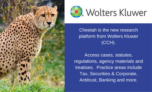 Wolters Kluwer Cheetah