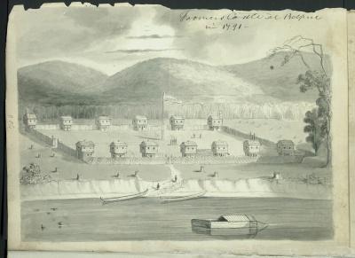 Drawing: Farmer's Castle