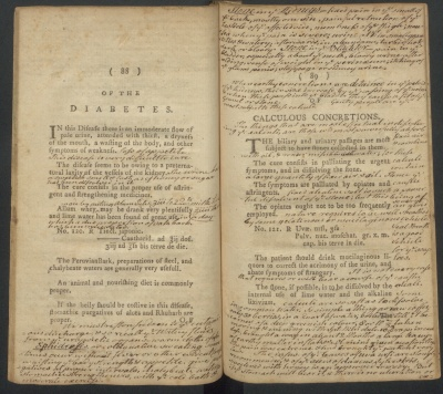 Book: Medical Manual used by Manasseh Cutler