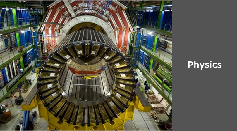 photo of the CERN Large Hadron Collider