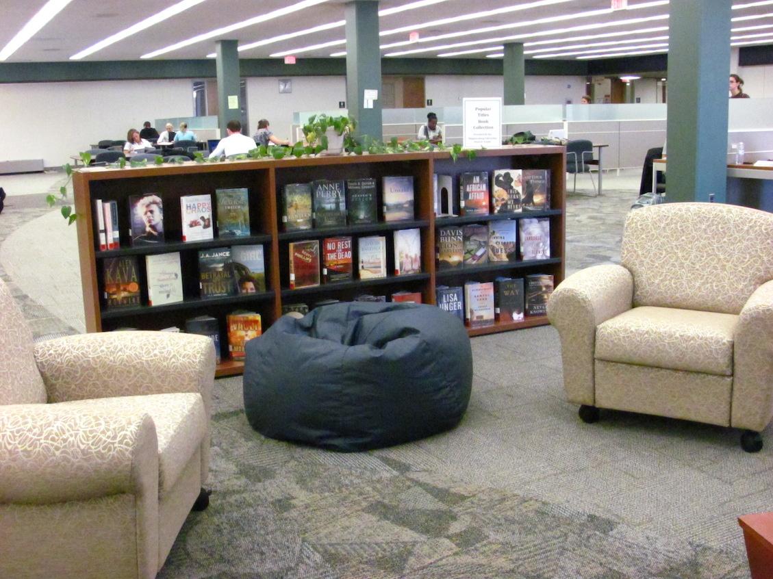 热门书籍系列带有软座位