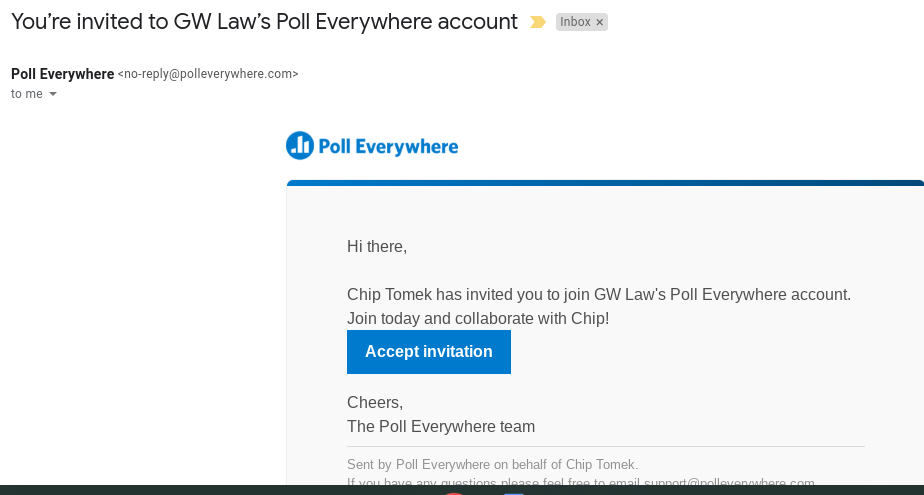 example of email invitation