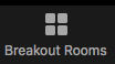 Zoom Breakout Room Button