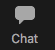 Zoom Chat Button