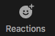 Zoom Reactions Button