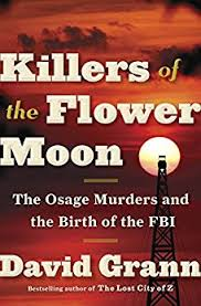 Book Cover - Killers of the Flower Moon