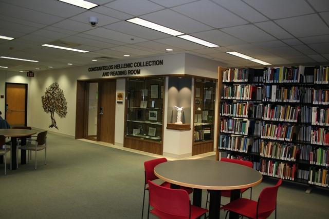 Constantelos Reading Room