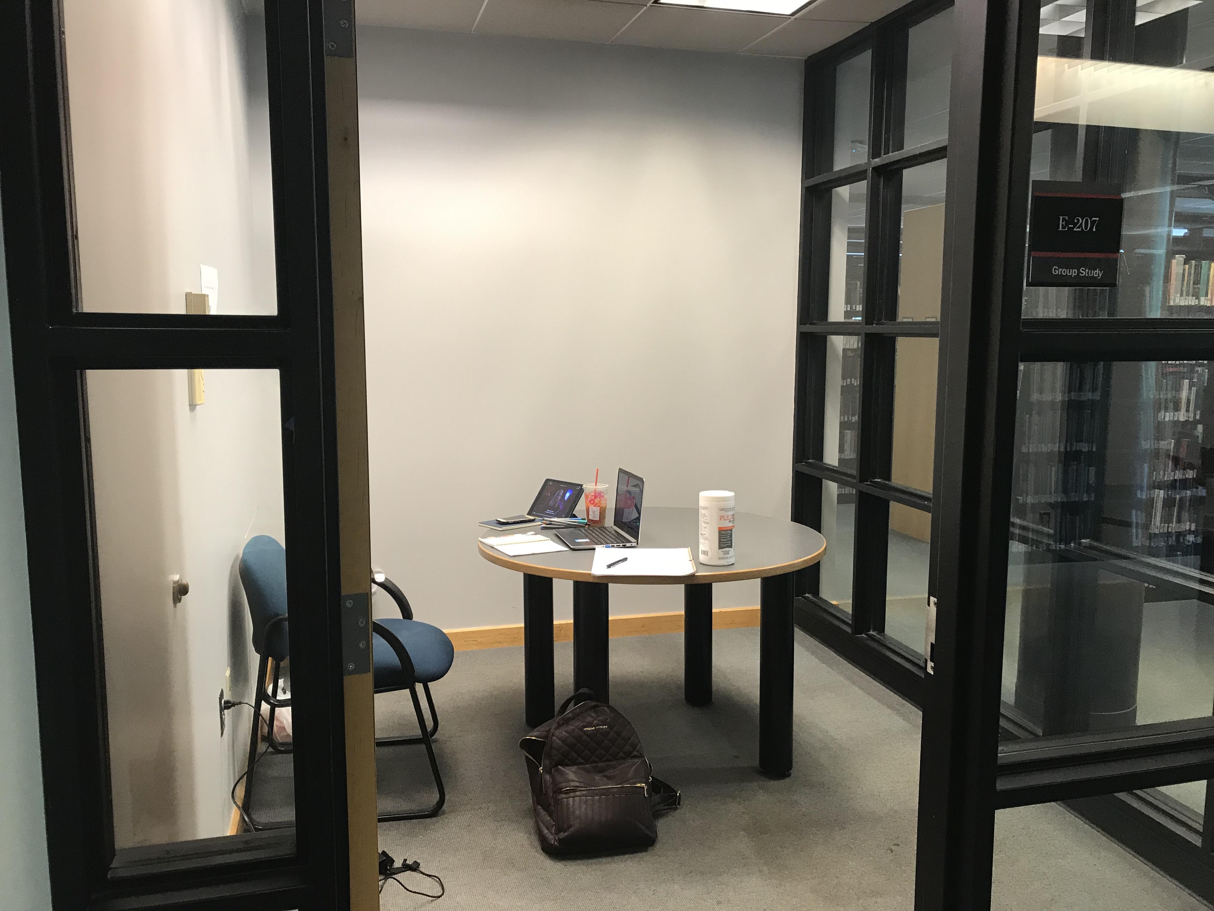 study room E-207
