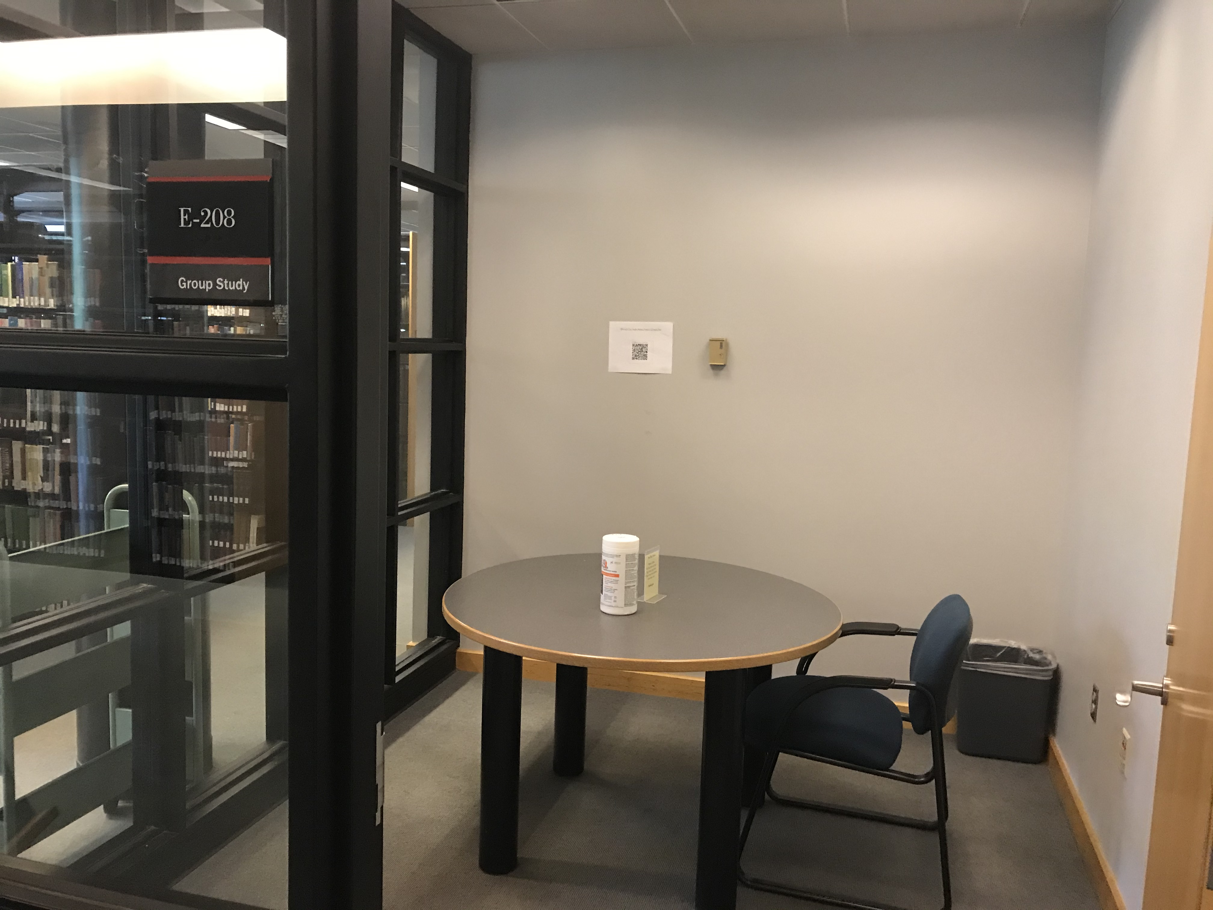 study room E-208