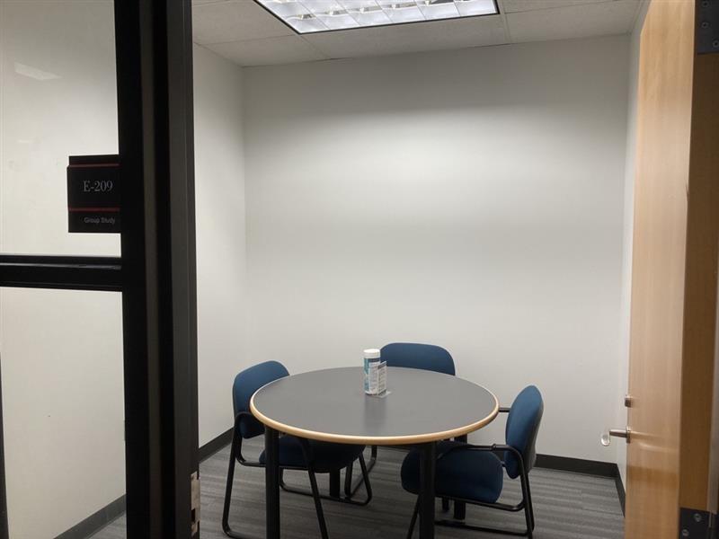study room E-209