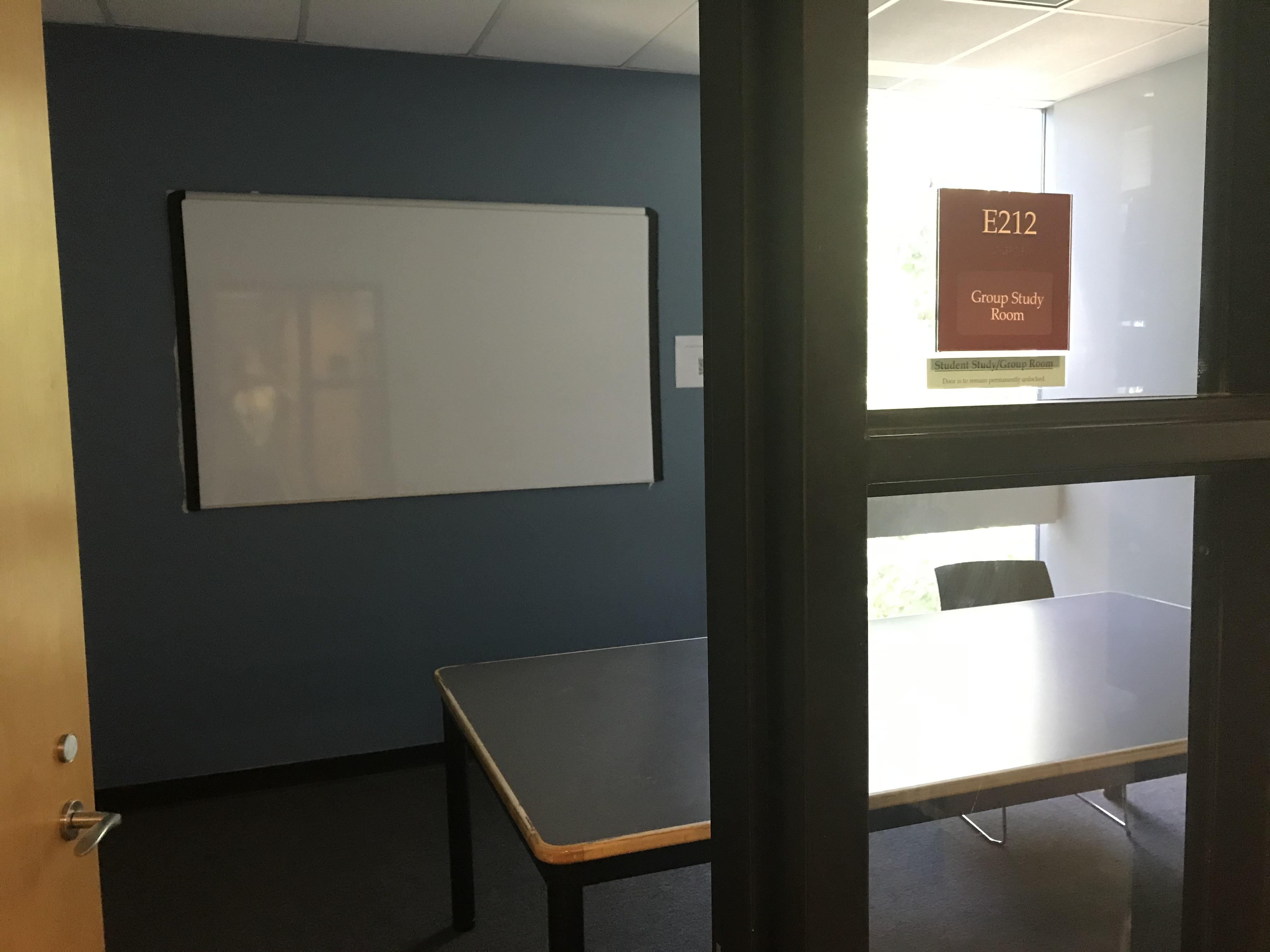 study room E-212