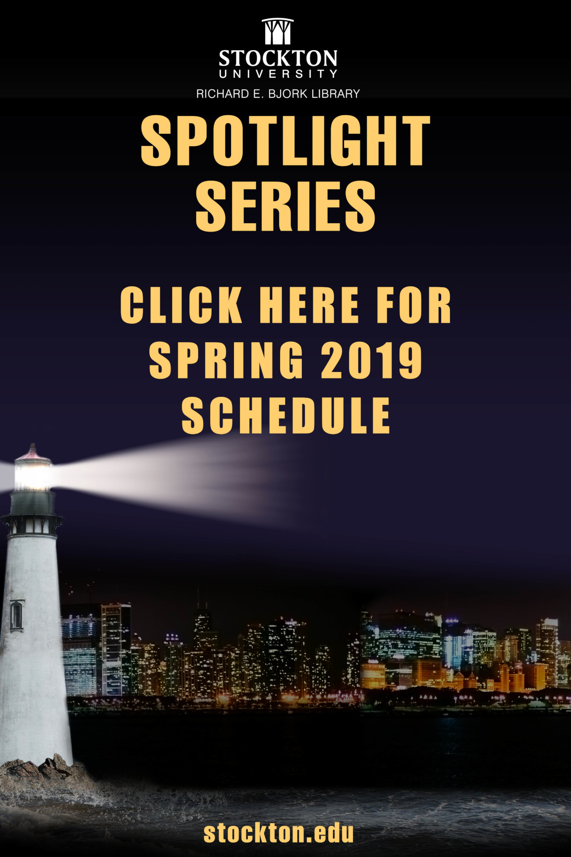 Link to Library Spotlight Series schedule