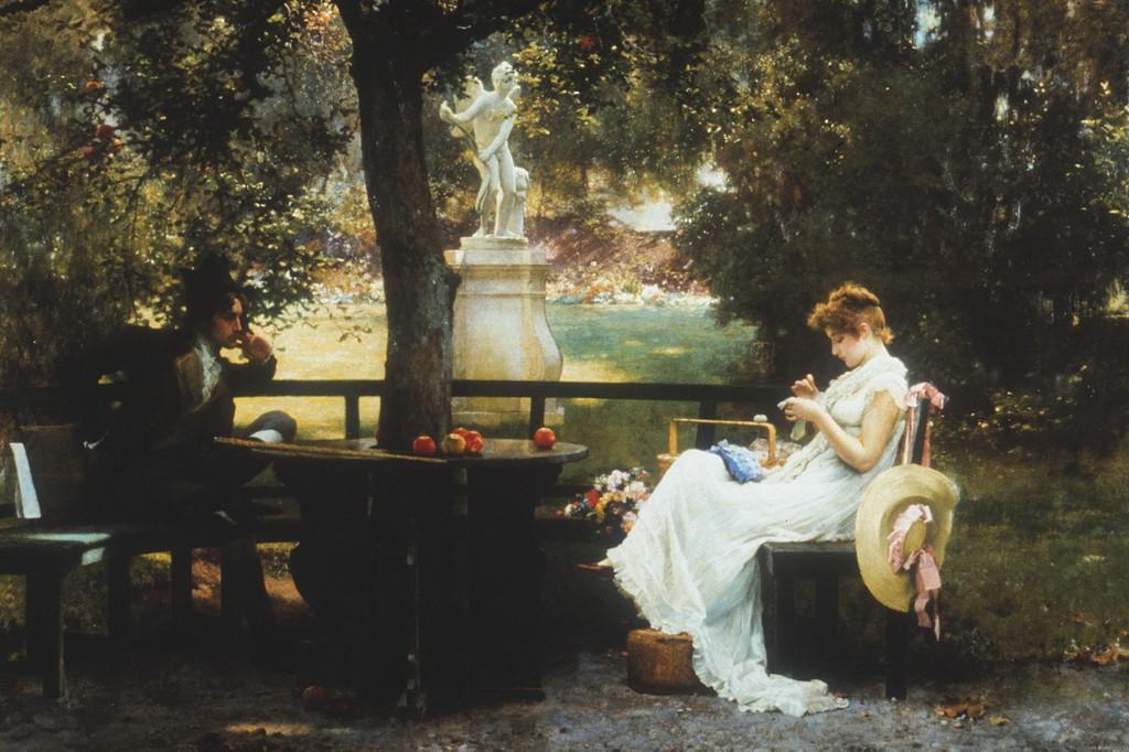 Marcus Stone, In Love, 1888