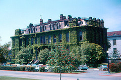 Image of South Hall in 1961, now home of the I School