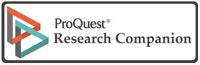 Proquest Research Companion database logo
