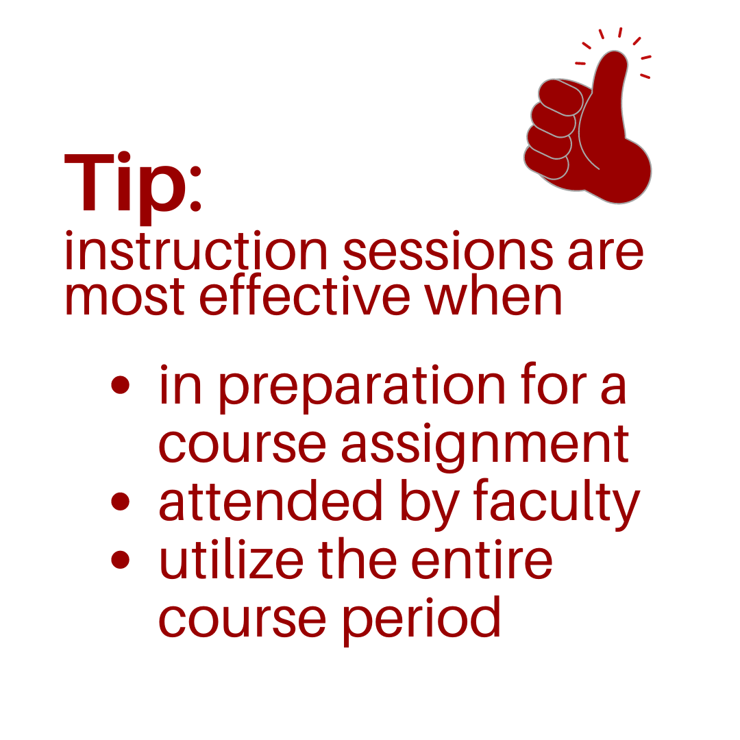 instruction session tip