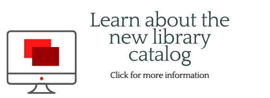 about the new library catalog