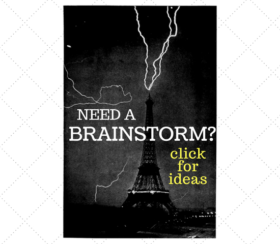 Need brainstorm Ideas? Click for more information!