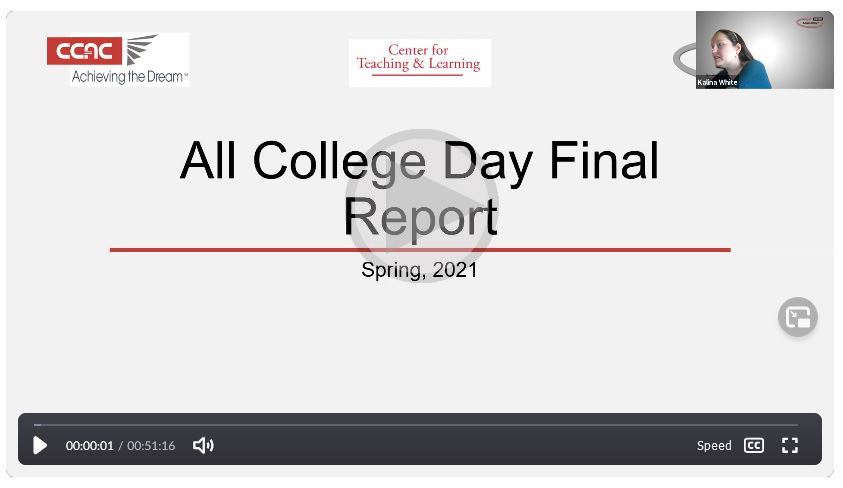 All College Day Final Report Video