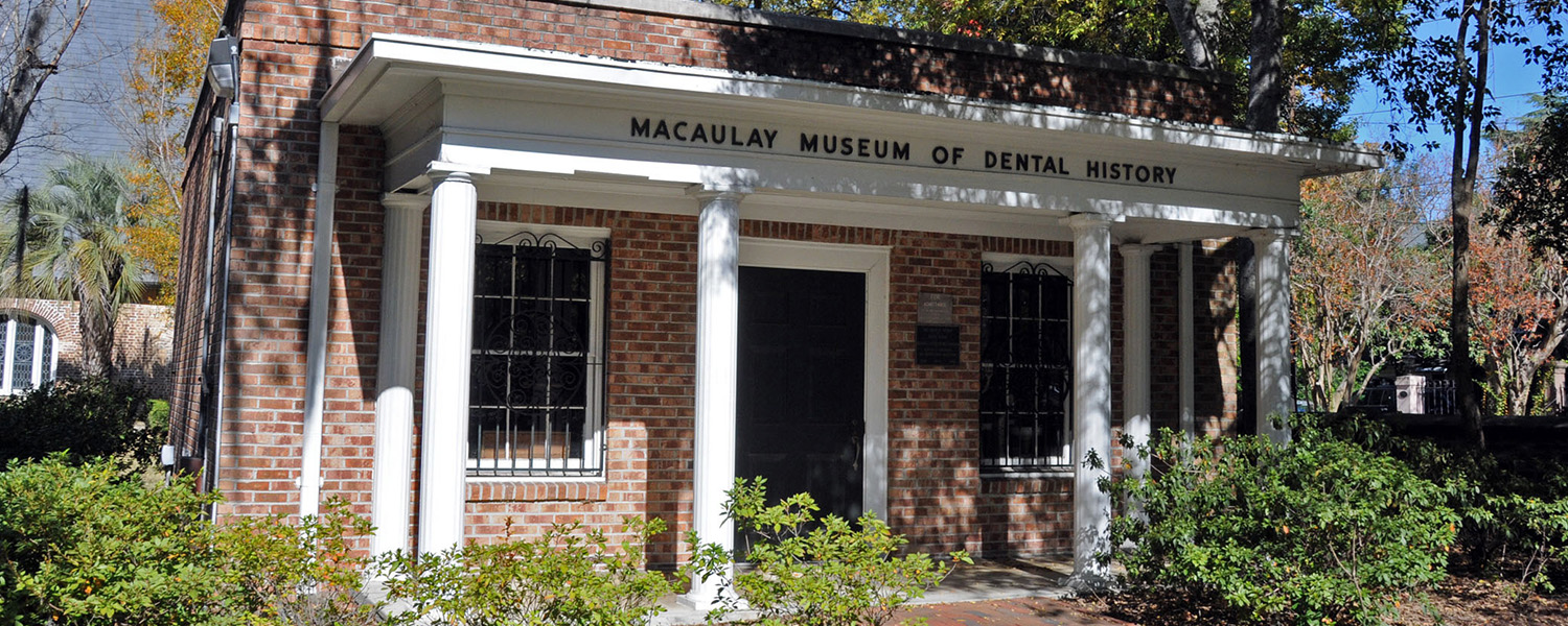 Photograph of Macaulay Museum of Dental History