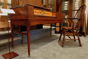 Image of the Albrecht Square Piano