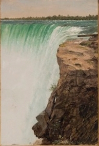 Horseshoe Falls and Table Rock, ca. 1856–57